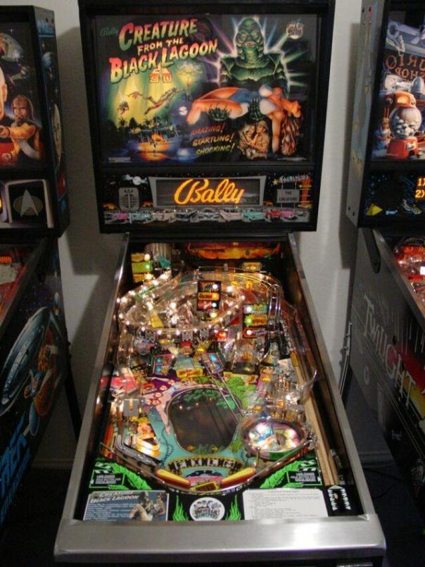 Black Lagoon pinball game