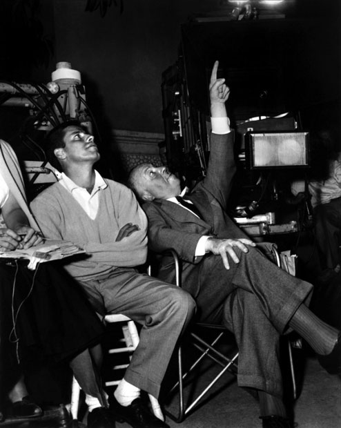 Jerry Lewis and Alfred Hitchcock