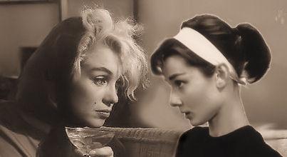 Marilyn Monroe/Audrey Hepburn
