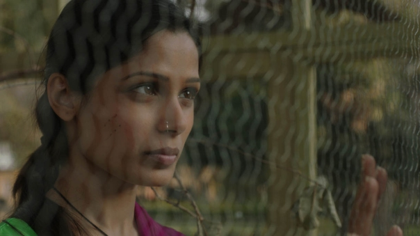 Photograph of Frieda Pinto as Trishna