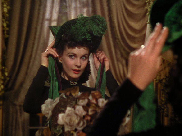 How can you describe the character of Scarlett O' Hara in