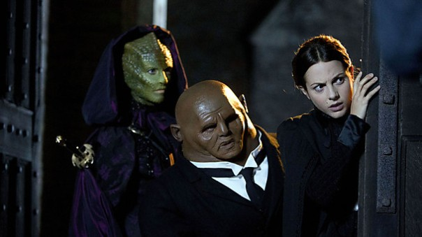 The Doctor knows that in times of crisis, he can rely on The Newt, Simon Potato & Scullery Lass!