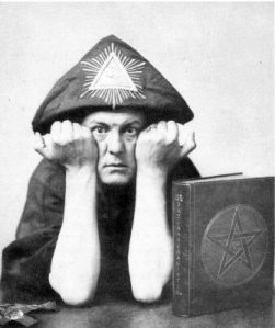 Do what thou wilt. 'What, even this?' Frightfest founder Aleister Crowley - such a card.