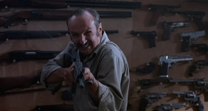 """I am COMPLETELY out of ammo. That's never happened to me before."" Michael Gross in Tremors"