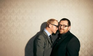 True bromance: Simon Pegg and Nick Frost