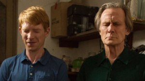 """Time present and time past are both perhaps present in time future, and time future contained in time past."" Domhnall Gleeson and Bill Nighy wrap their heads around a paradox."