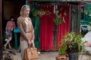 Life on the skids, Woody Allen style: Sally Hawkins and Cate Blanchett in 'Blue Jasmine'
