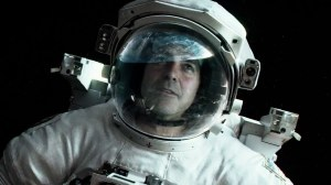 'Does my face look big in this?' George Clooney in Gravity