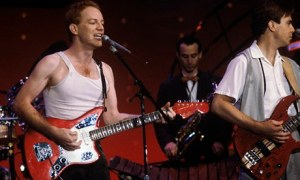 """Hey, is that a 64 Fender Jaguar?"" Danny Elfman with Oingo Boingo"