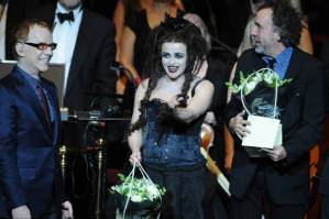 Perry Farrell of Jane's Addiction stands in for Helena Bonham Carter