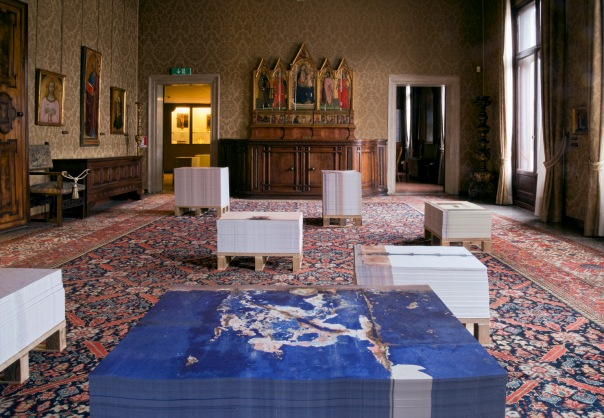 The Angola pavilion at the Palazzo Cini
