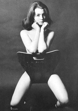 Christine Keeler chair photo