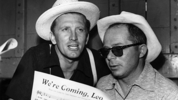 Kirk Douglas and Billy Wilder