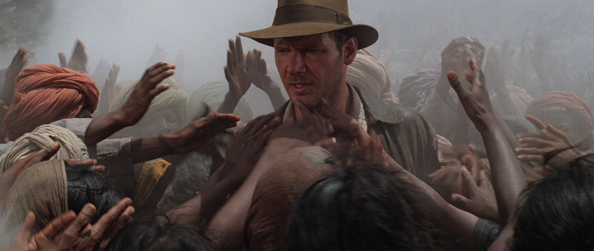 Not Sinking But Crashing: Indiana Jones and the Temple of