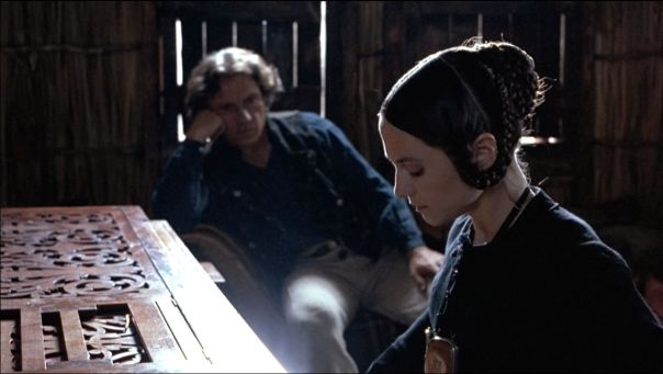 Harvey Keitel and Holly Hunter in The Piano