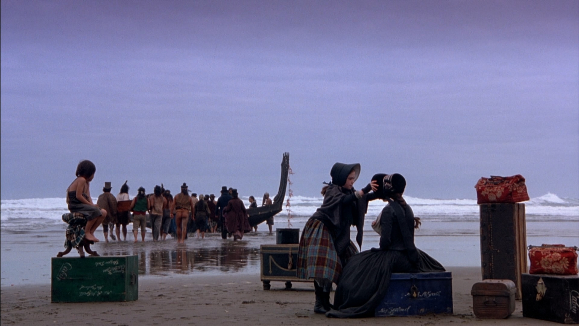Film still from Jane Campion's 'The Piano.' (Credit: Miramax)