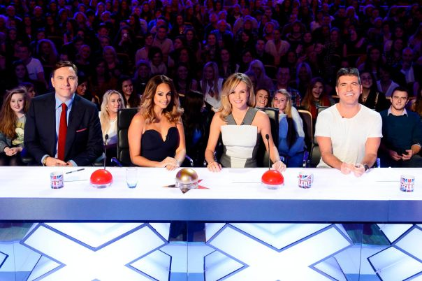 The Britain's Got Talent judges