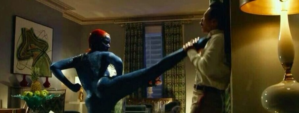 mystique in action