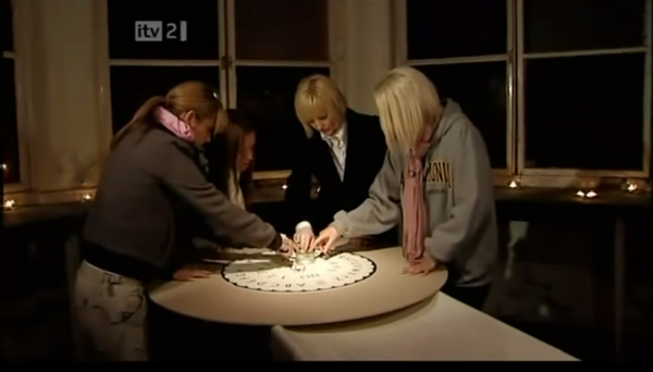 Girls Aloud examine the small print of their Popstars: The Rivals contract.