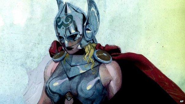 """Apparently I have to cosplay as a genderswapped Thor if I want a superhero gig...."""
