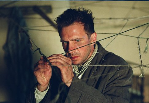 Ralph Fiennes tries to untangle the plot of Consumed