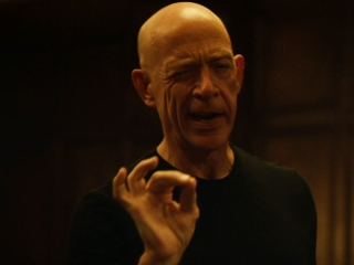 JK Simmons as the World Cup trophy