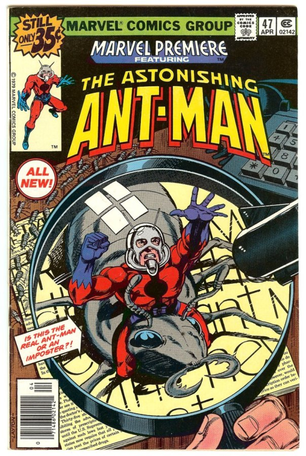 antman comic - lang