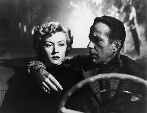 Gloria Grahame and Humphrey Bogart in Nicholas Ray's In A Lonely Place