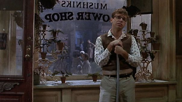 Rick Moranis in Little Shop of Horrors