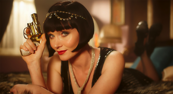 Miss Fisher does Pulp Fiction