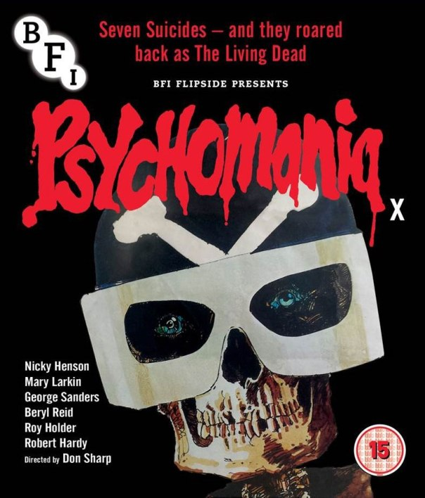 Psychomania BFI Blu-ray/DVD cover