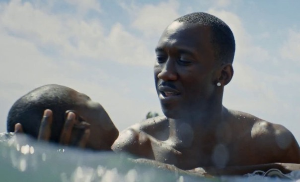 Moonlight the film two men in a river