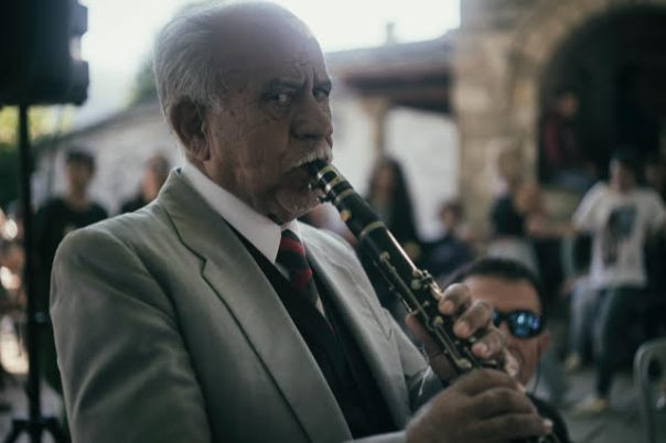 Grigoris Kapsalis, clarino player, Vitsa (photo Patrick Jordan)