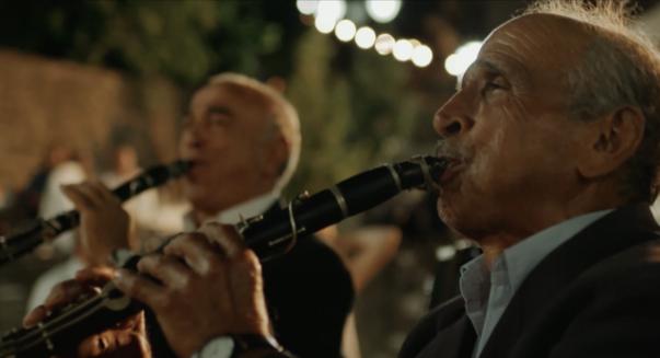 Musicians in Pyrsogianni, Epirus